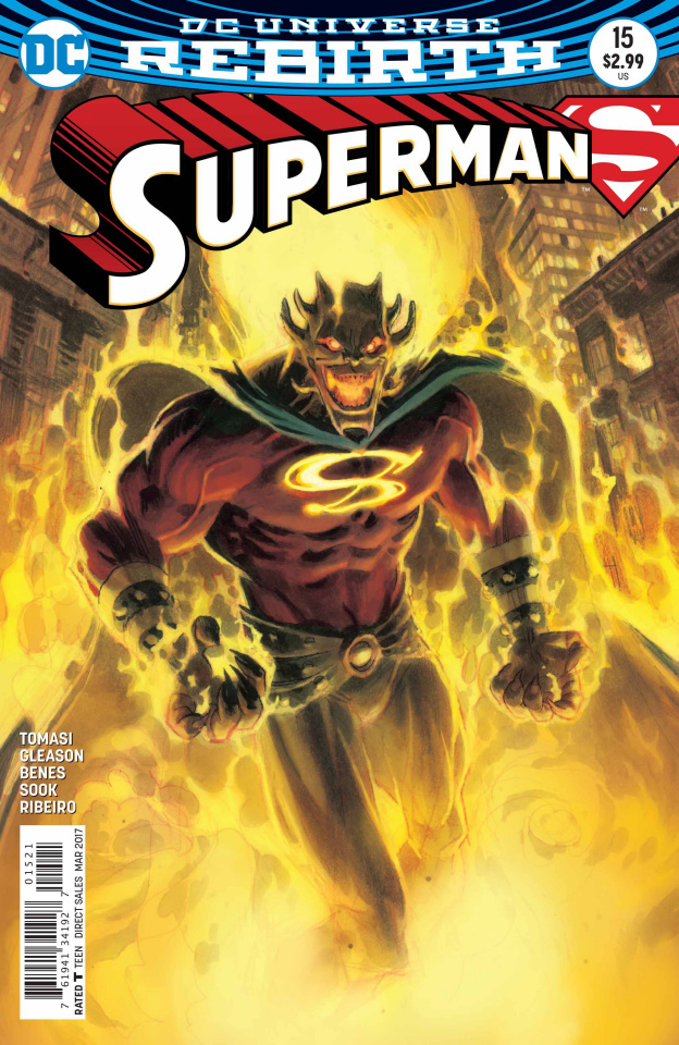 Superman #15 (Variant Cover)