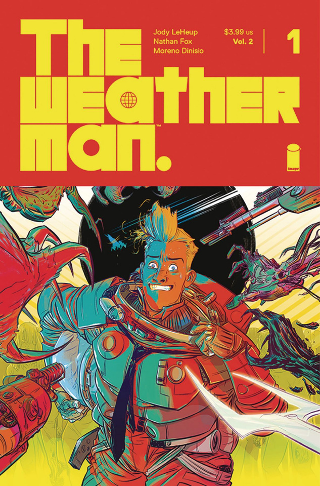 The Weatherman #1 (Fox Cover)