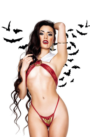 Vampirella #10 (10 Copy Cosplay Virgin Cover)