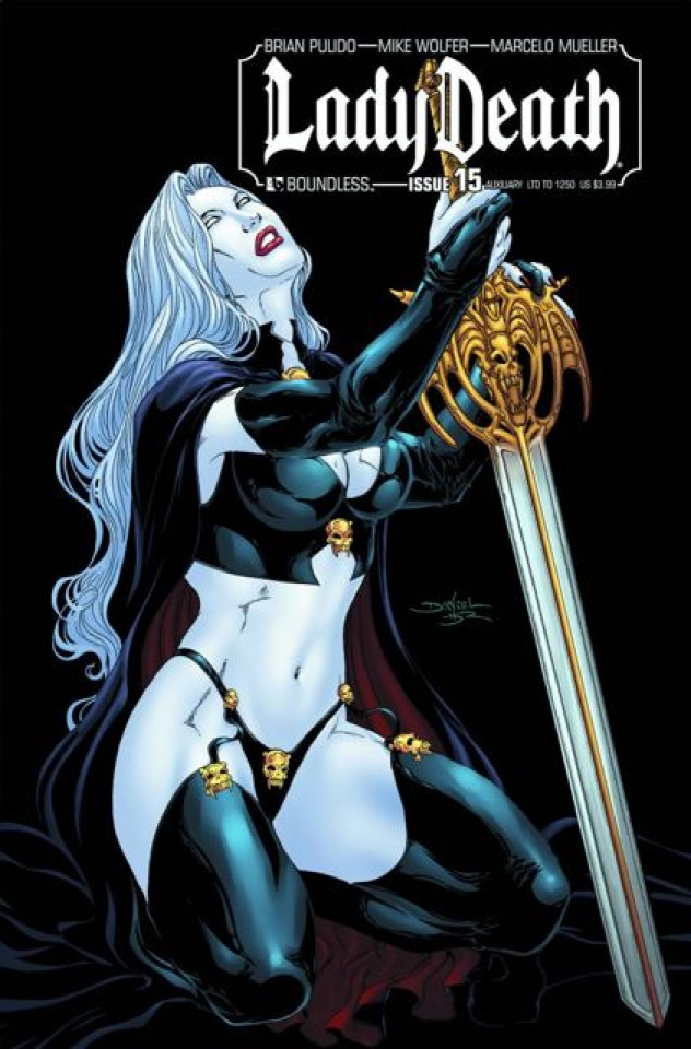 Lady Death #15 (Auxiliary Cover)