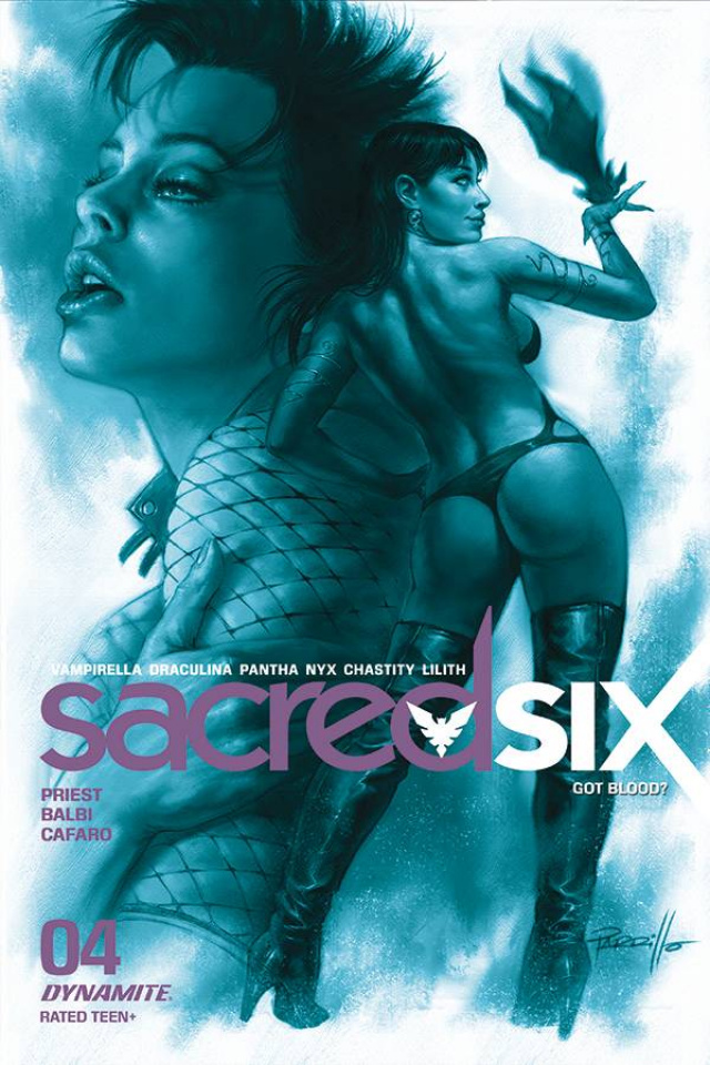 Sacred Six #4 (25 Copy Parrillo Tint Cover)