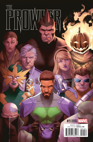 The Prowler #1 (Jamal Campbell Cover)