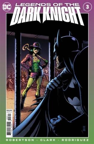 Legends of the Dark Knight #3 (Darick Robertson & Diego Rodriguez Cover)