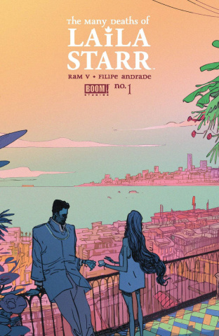 The Many Deaths of Laila Starr #1 (Andrade 3rd Printing)