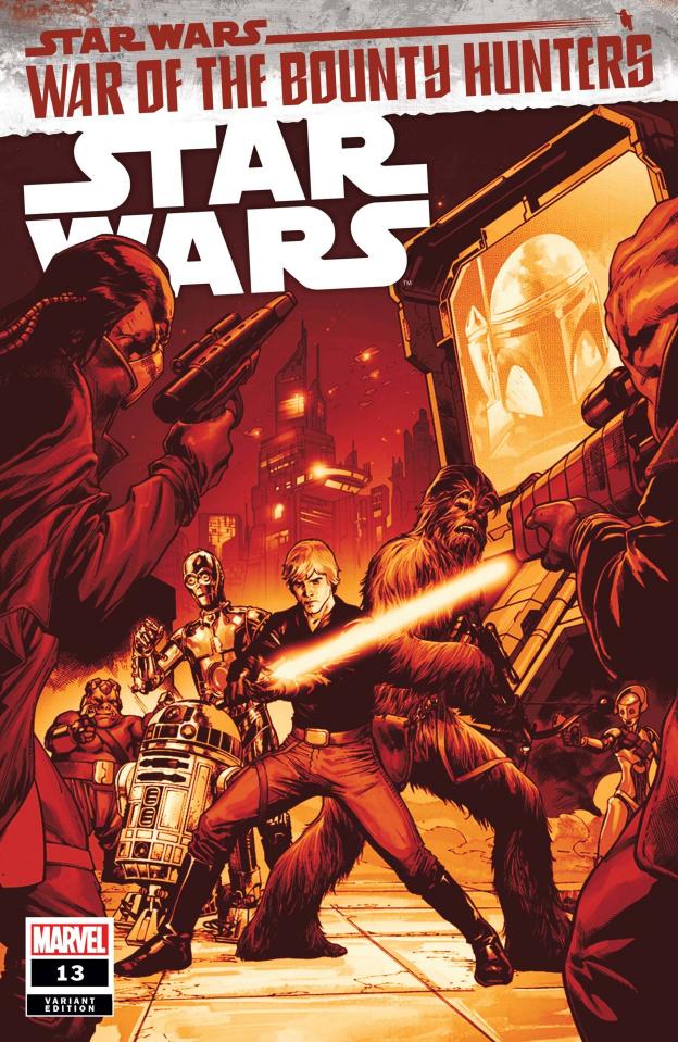 Star Wars #13 (Pagulayan Crimson Cover)