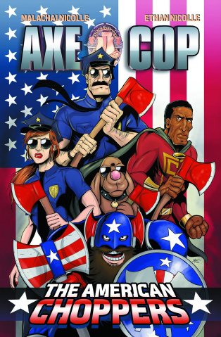Axe Cop: American Choppers #1