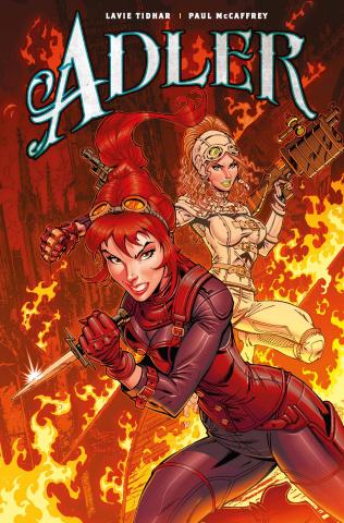 Adler #4 (Royle Cover)