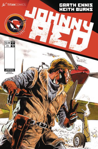 Johnny Red #7 (Perkins Cover)