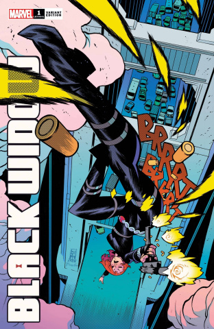 Black Widow #1 (Jacinto Cover)