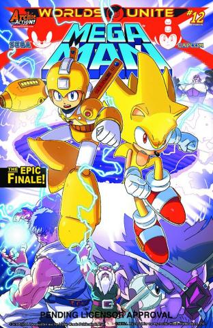 Mega Man #52 (T.Rex Cover)