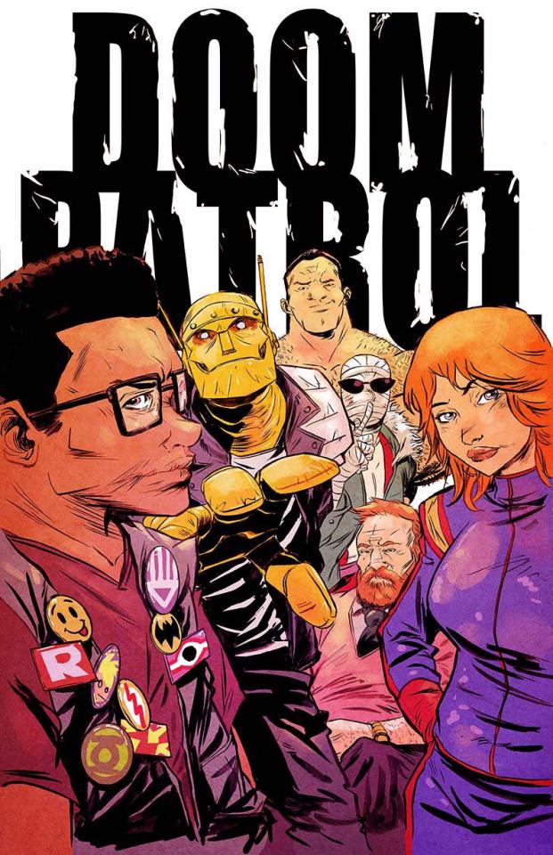 Doom Patrol #1 (Greene Cover)