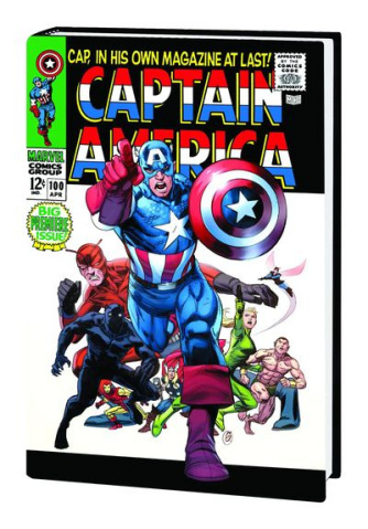 Captain America Vol. 1 (Garney Cover)