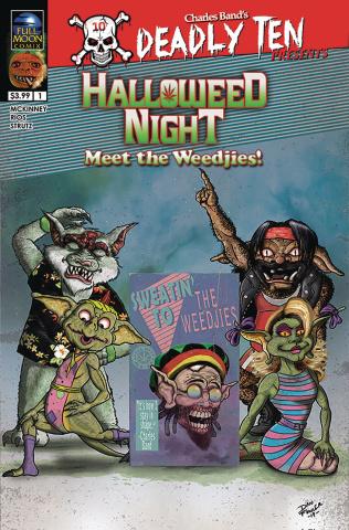 Deadly Ten Presents Halloweed Night: Meet the Weedjies! (Cover B)