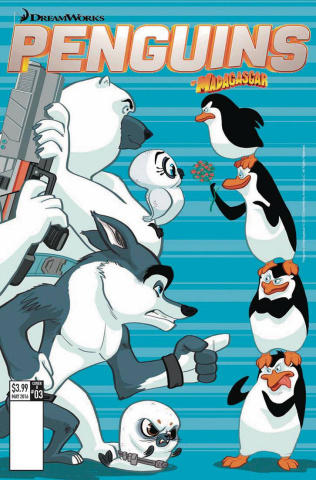 Penguins of Madagascar: The Elitest of the Elite #3 (Cover B)