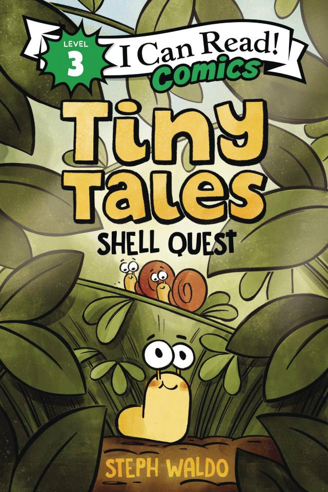 I Can Read! Comics Level 3: Tiny Tales - Shell Quest