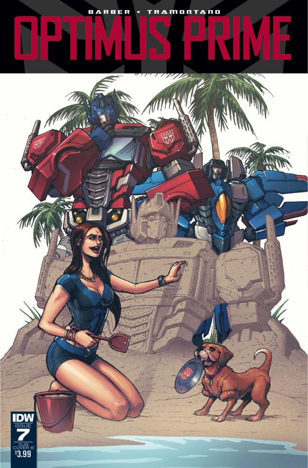 Optimus Prime #7 (Subscription Cover)