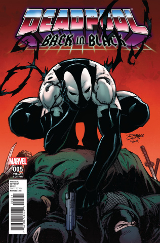 Deadpool: Back in Black #5 (Lim Cover)