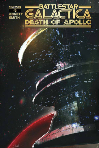 Battlestar Galactica: Death of Apollo #5 (Ramondelli Cover)