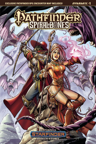 Pathfinder: Spiral of Bones #1 (Santucci Cover)