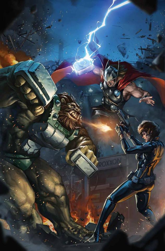Thor: God of Thunder #22