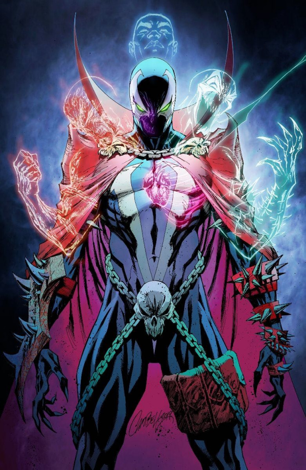 Spawn #301 (Virgin Campbell Cover)