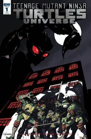 Teenage Mutant Ninja Turtles Universe #1 (10 Copy Cover)