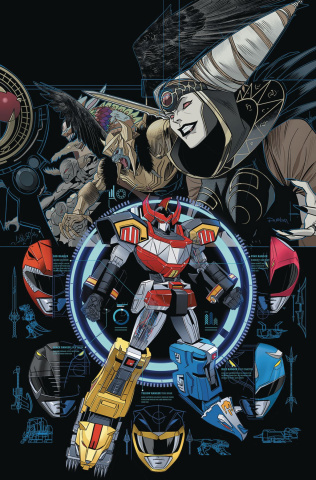 Go, Go, Power Rangers! #13 (Main & Mix Cover)