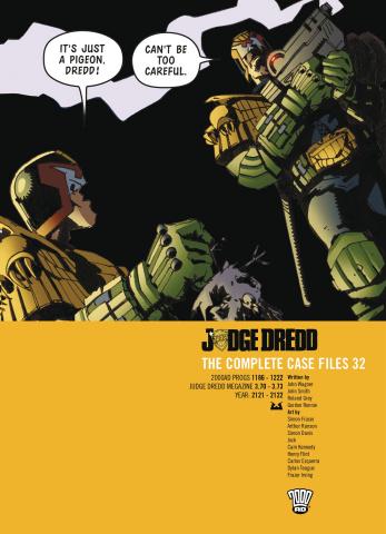 Judge Dredd: The Complete Case Files Vol. 32