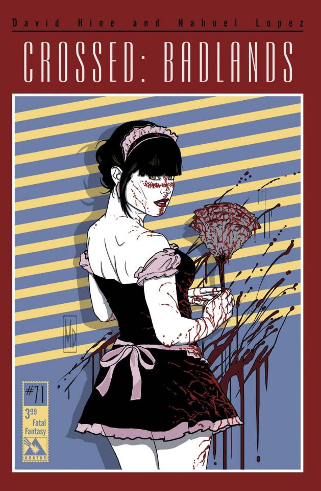 Crossed: Badlands #71 (Fatal Fantasy Cover)
