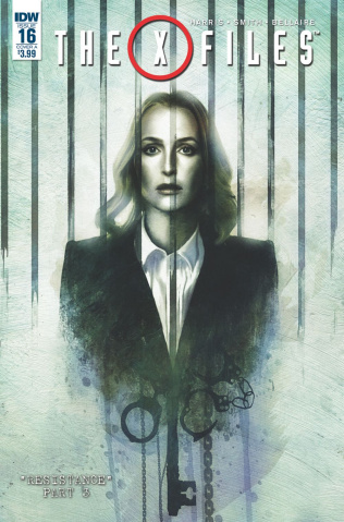 The X-Files #16 (Menton3 Cover)