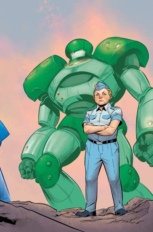Mech Cadet Yu #2 (Subscription To Cover)