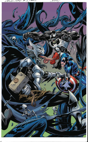 Venomized #3 (Bagley Connecting Cover)