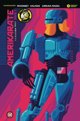 Amerikarate #7 (Whalen Robosam Cover)