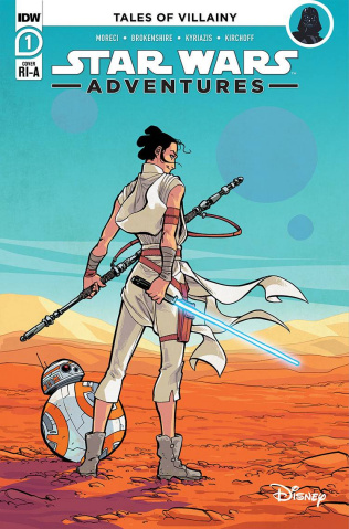 Star Wars Adventures #1 (10 Copy Kyriazis Cover)