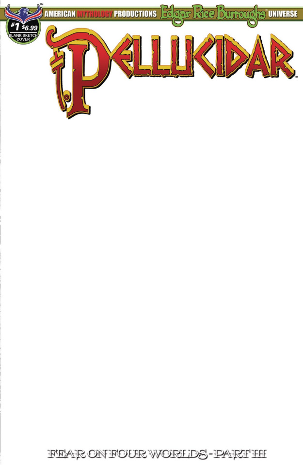 Pellucidar #1 (Blank Sketch Cover)