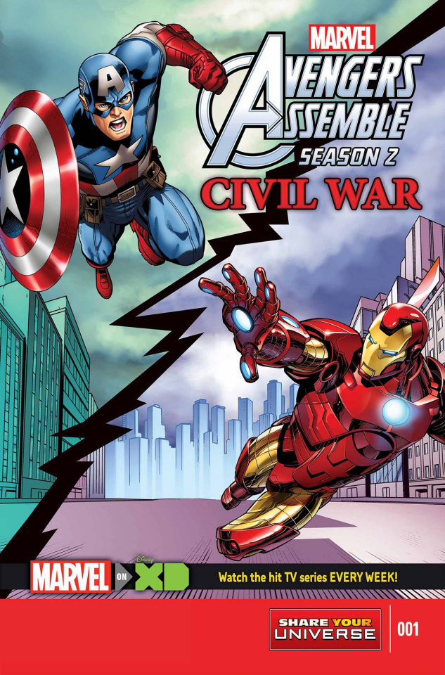 Marvel Universe Avengers Assemble: Civil War #1