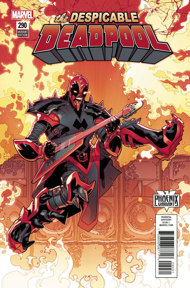 The Despicable Deadpool #290 (Silva Phoenix Cover)