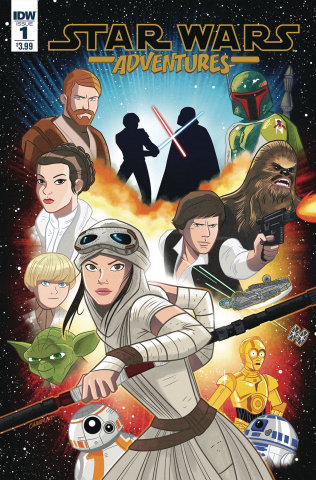 Star Wars Adventures #1 (Charm Cover)