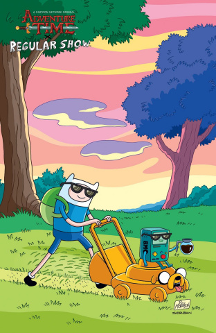Adventure Time: Regular Show #2 (10 Copy Jason Ho Cover)