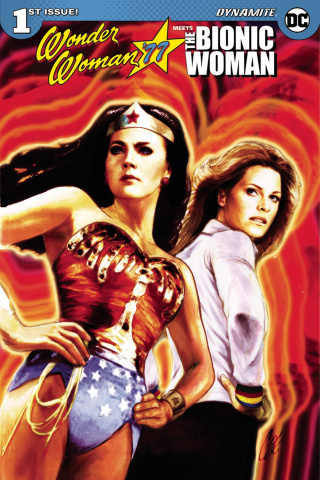 Wonder Woman '77 Meets The Bionic Woman #1 (Staggs Cover)
