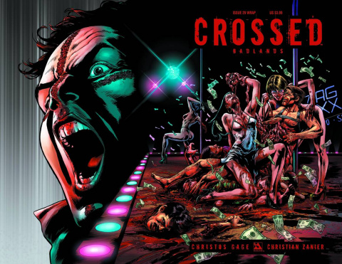 Crossed: Badlands #29 (Wrap Cover)