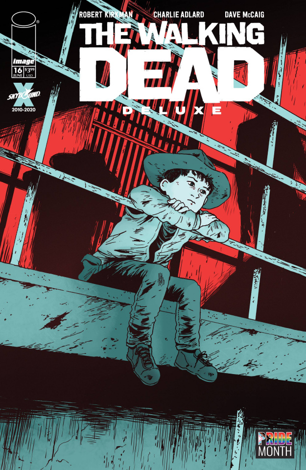 The Walking Dead Deluxe #16 (Pride Month Cover)