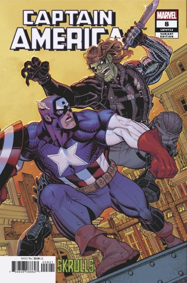 Captain America #8 (Larraz Skrulls Cover)