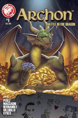 Archon #1 (Fusco Cover)