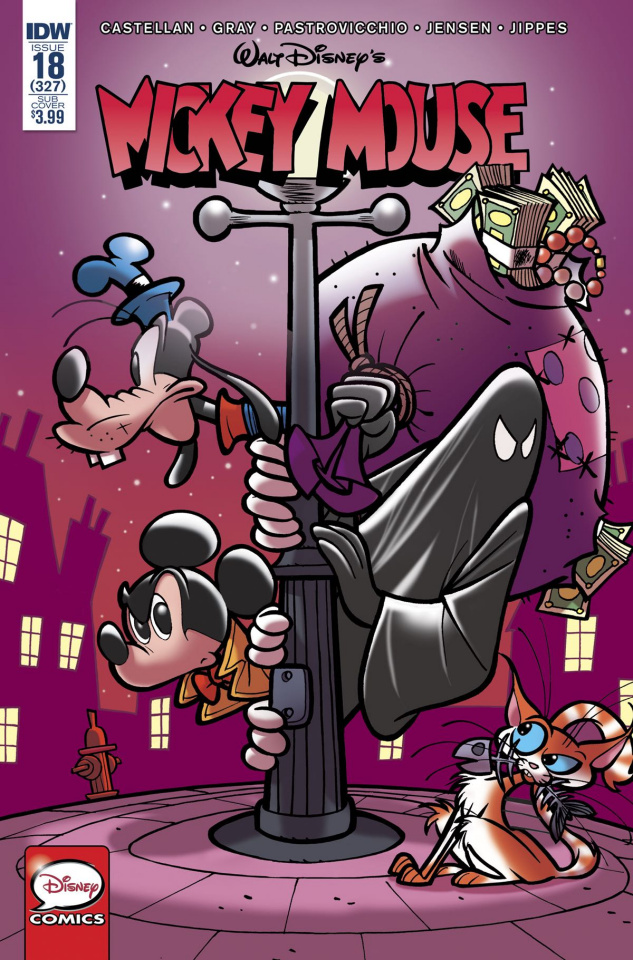 Mickey Mouse #18 (Subscription Cover)