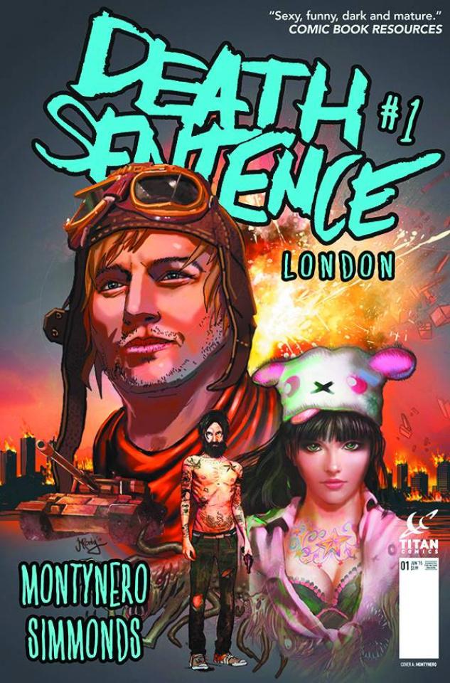 Death Sentence: London #1 (Montynero Cover)