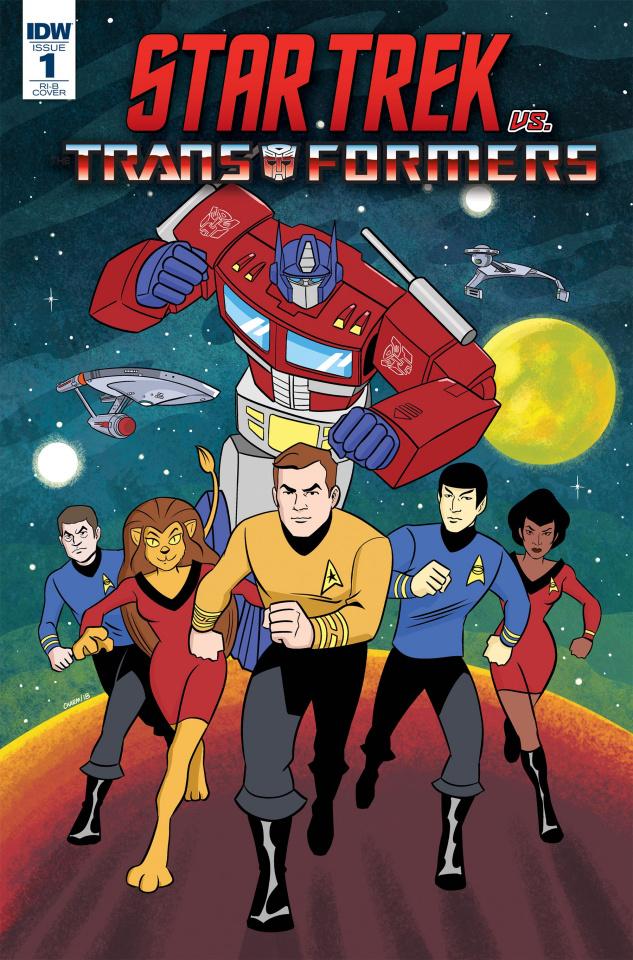 Star Trek vs. The Transformers #1 (25 Copy Charm Cover)