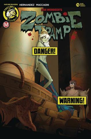 Zombie Tramp #72 (Maccagni Risque Cover)