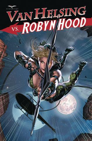 Van Helsing vs. Robyn Hood #2 (White Cover)
