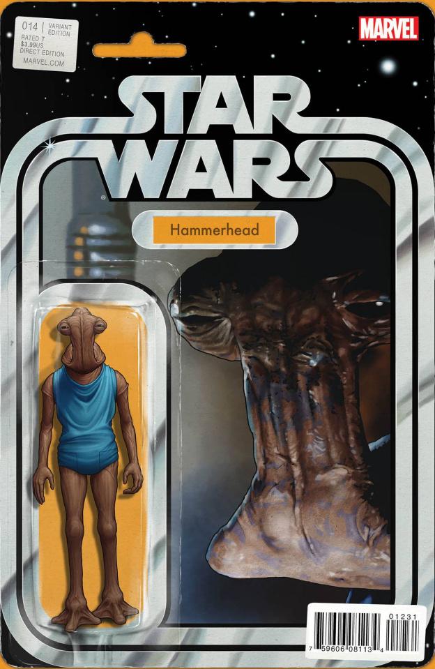 Star Wars #14 (Christopher Action Figure Var Cover)
